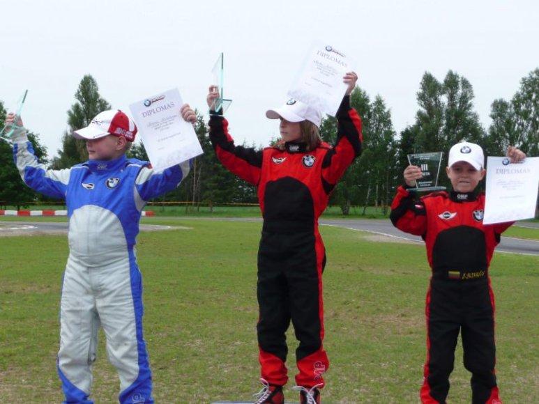 BMW Formulėje Mini – M.Bukino triumfas.