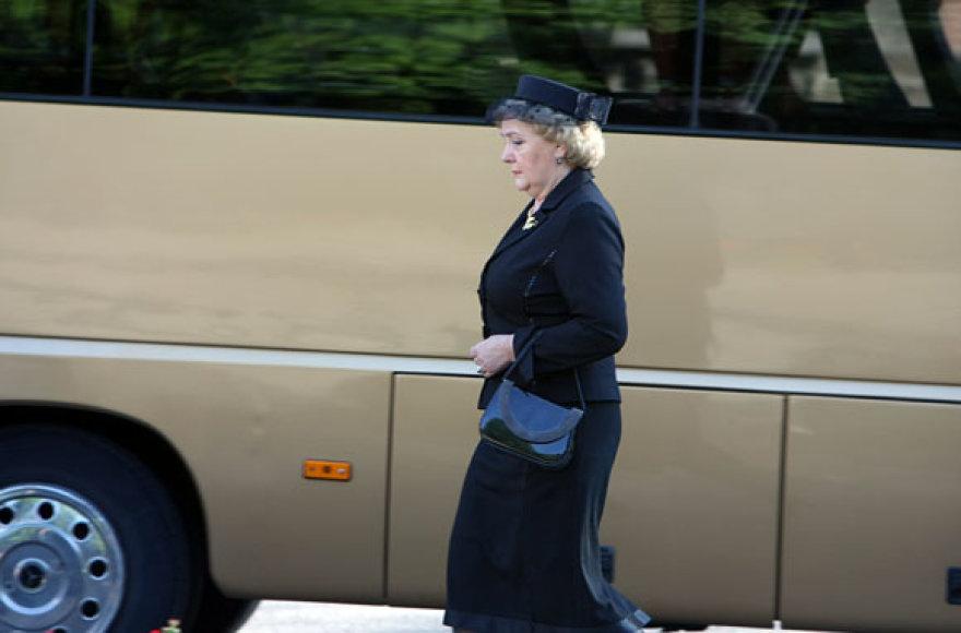 Velionio prezidento A.M.Brazausko žmona Kristina Brazauskienė
