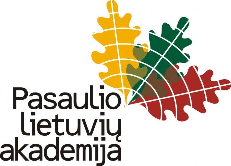 """""""Pasaulio lietuvių akademijos"""" logotipas"""