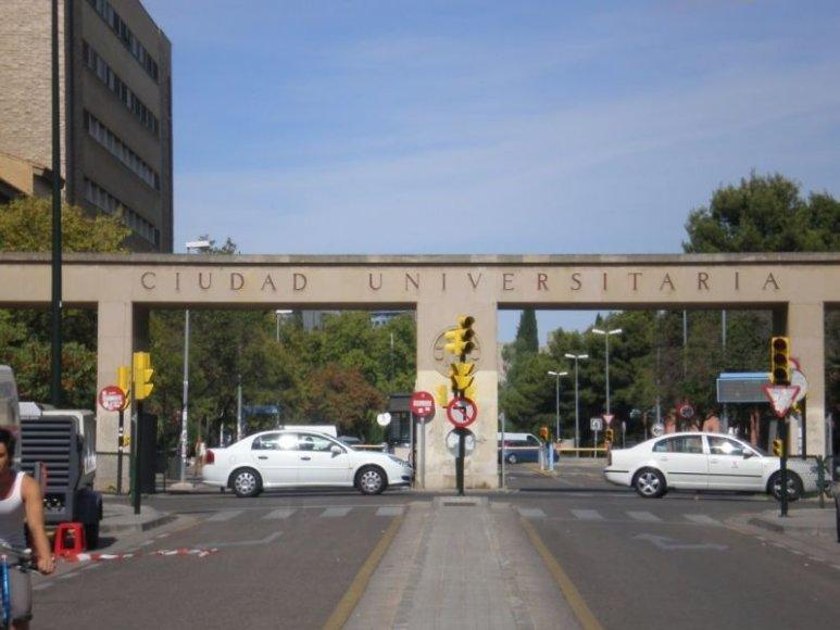 Zaragozos universiteto teritorija, Ispanija