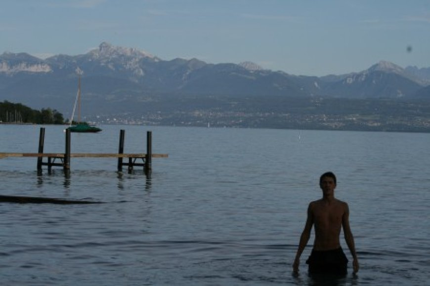 Vytautas Ženevos ežere