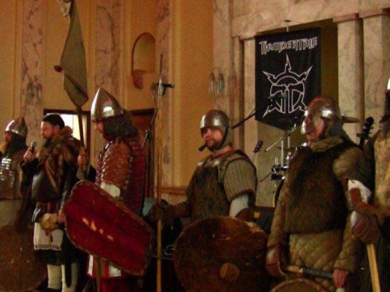 Kauno įgulos karininkų Ramovėje paminėta Konstitucijos diena.