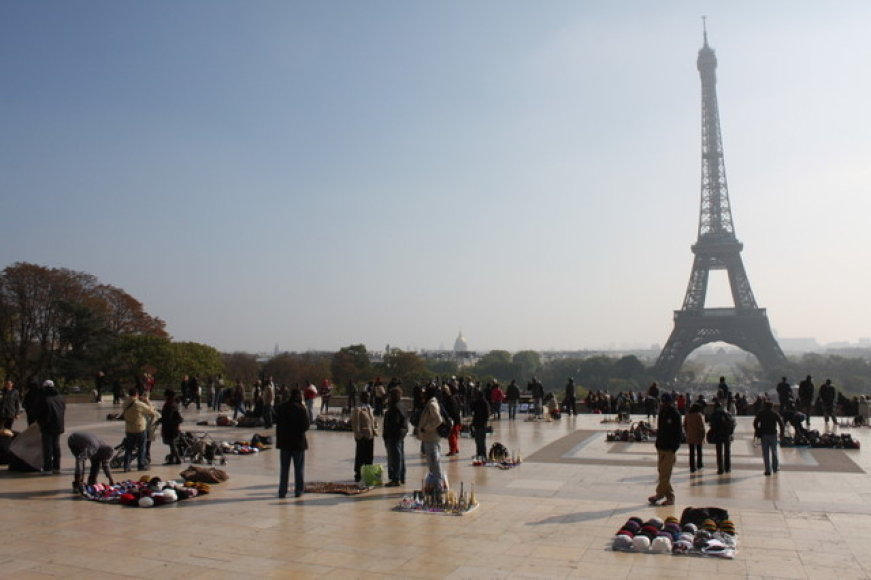 Paryžius studento akimis
