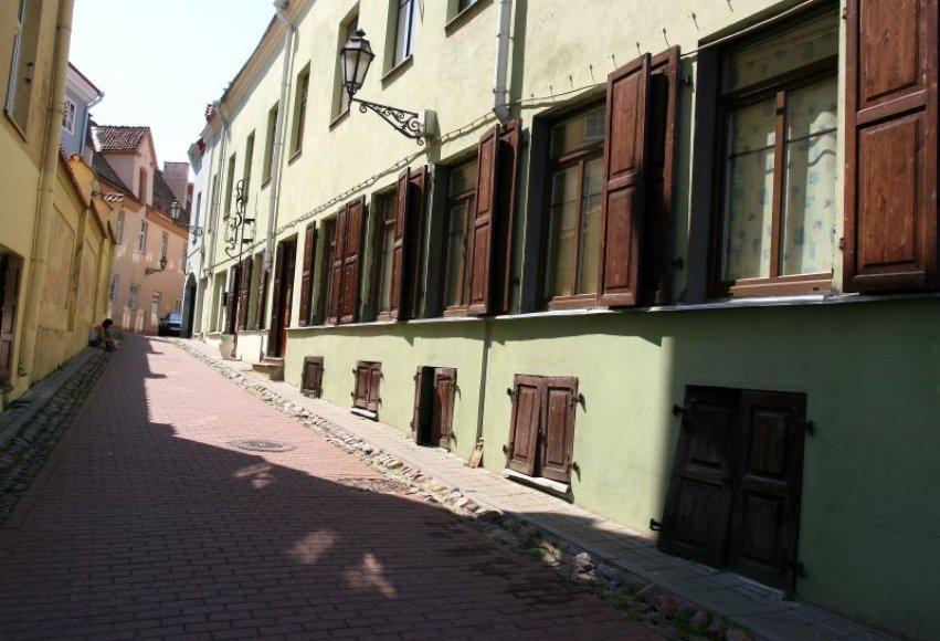 Literatų gatvę siekiama įprasminti menininkų kūriniais ir paversti tikra literatų šventovę.