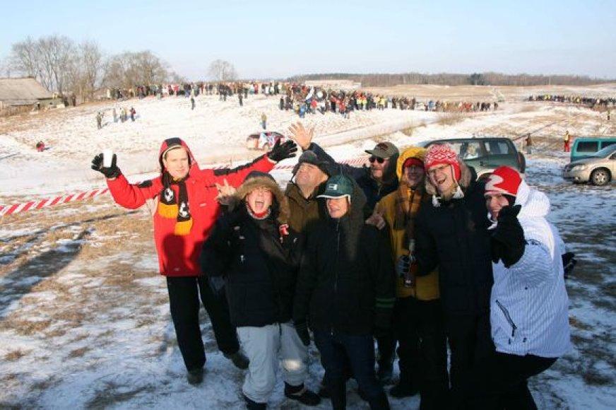 """Winter Rally 2009"" akimirkos"