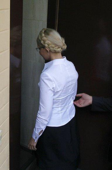 J.Tymošenko arešto akimirka