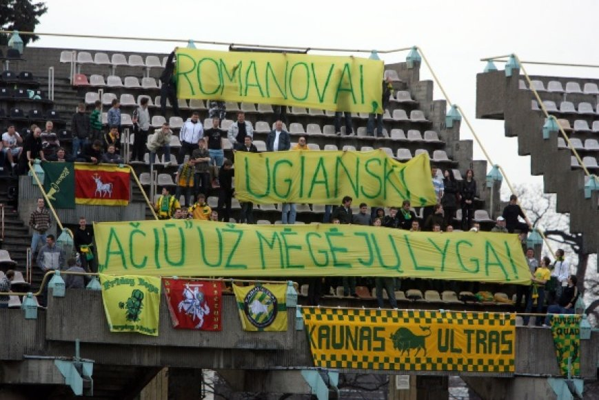 """""""Kaunas"""" ir """"Tauras"""" išsiskyrė taikiai"""