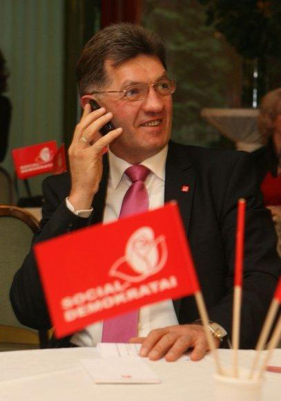 LR prezidento rinkimų vakaras socialdemokratų būstinėje