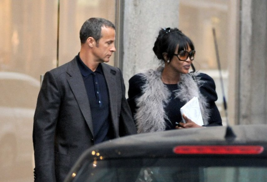 Naomi Campbell su draugu Vladislavu Doroninu