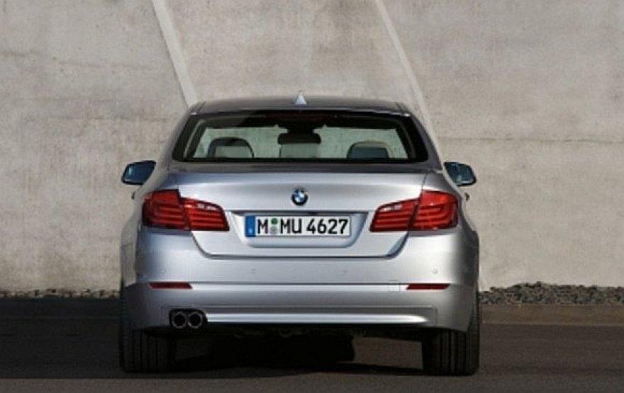 BMW 5 sedanas
