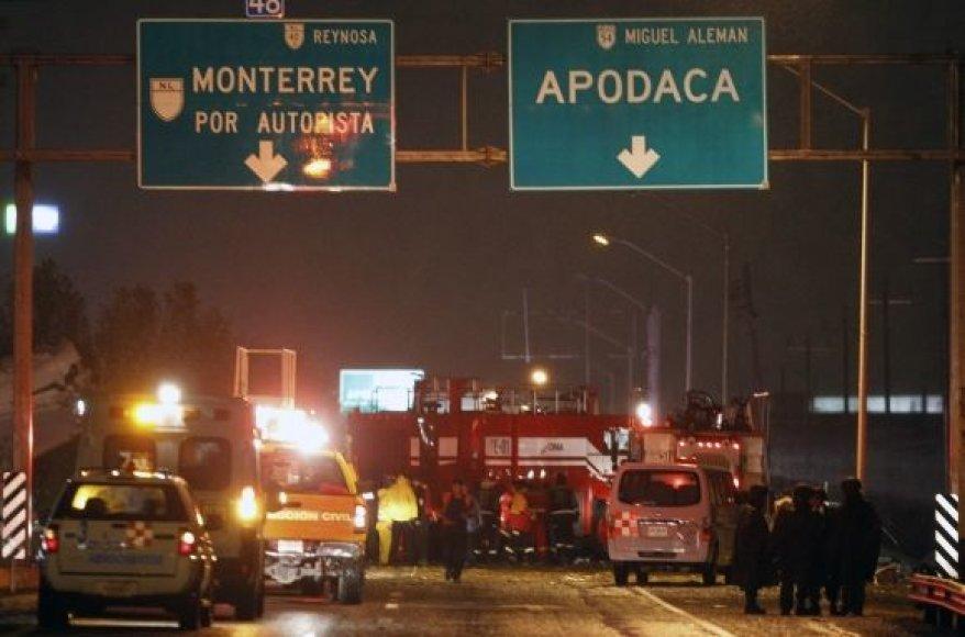 Lėktuvo katastrofa Monterėjuje