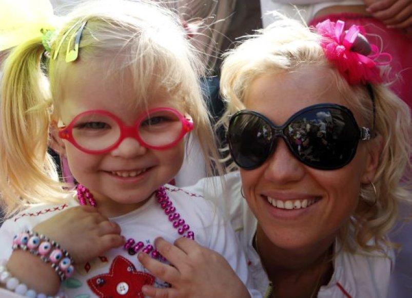 Blondinių paradas Rygoje