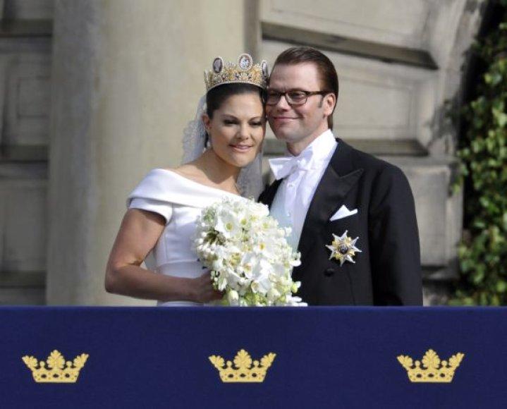 Karališkos vestuvės: Victoria ir Danielis