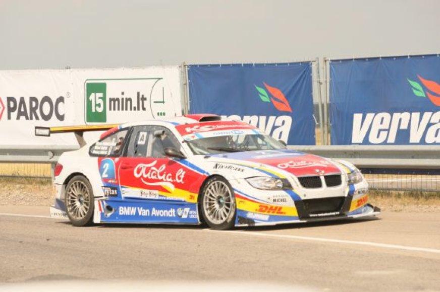 Nugalėtojų BMW