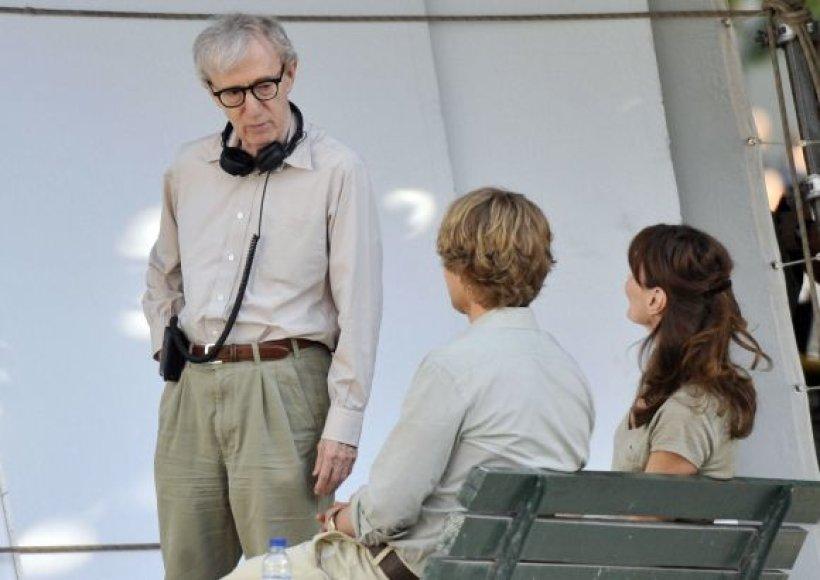 Woody Allenas filmuoja