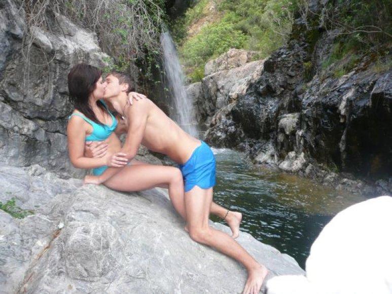 Bikini porelė Eglė ir Aivaras
