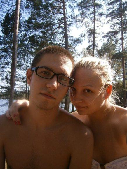 Bikini porelė. Egidijus ir Giedrė