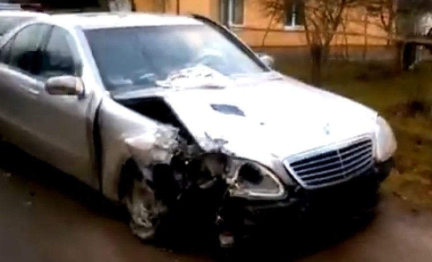 Mercedeso avarija