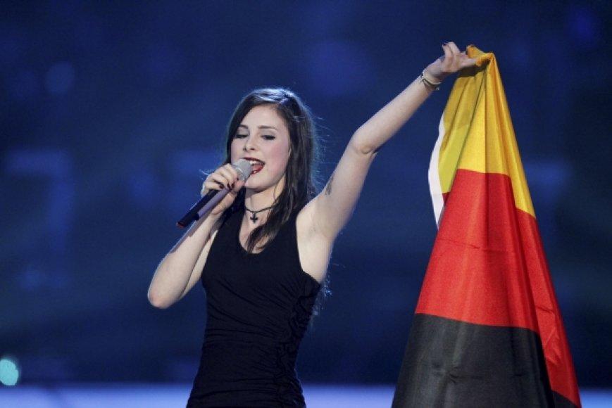 """""""Eurovizijos"""" nugalėtoja Lena"""