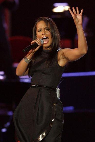 Alicia Keys pasirodymas