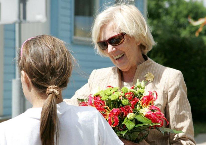 Ponia Alma apgailestavo, kad ne visiems vaikučiams ši šventė yra džiaugsminga.