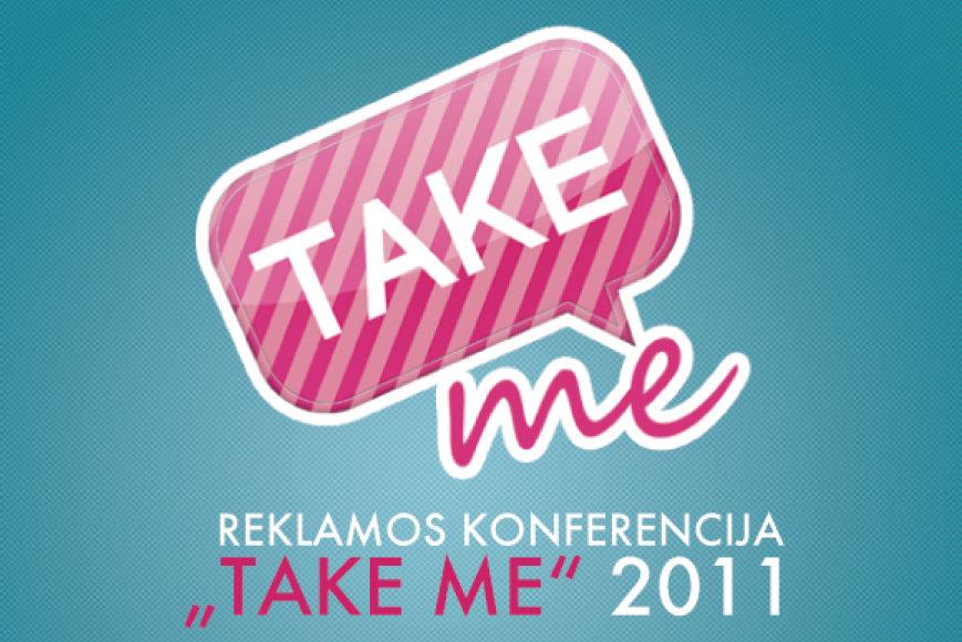 "Reklamos konferencija ""Take me"""