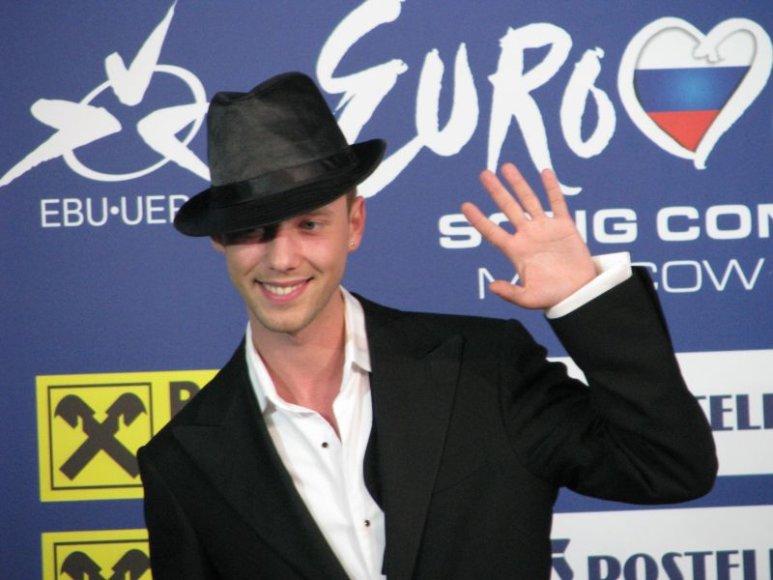"""Sasha Son(g) """"Eurovizijos"""" finale pasirodys pirmasis."""