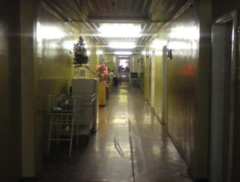 Vilniaus miesto universitetinės ligoninės gimdymo skyriaus koridoriuose šiandien tylu ir ramu.