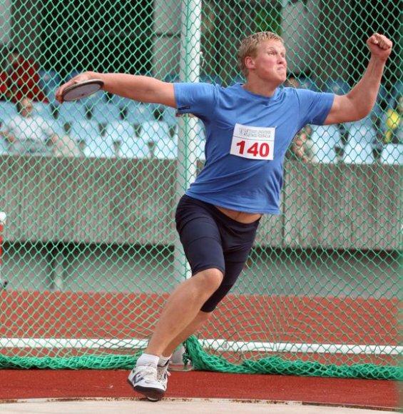 Andrius Gudžius 2008 metais varžybose Kaune