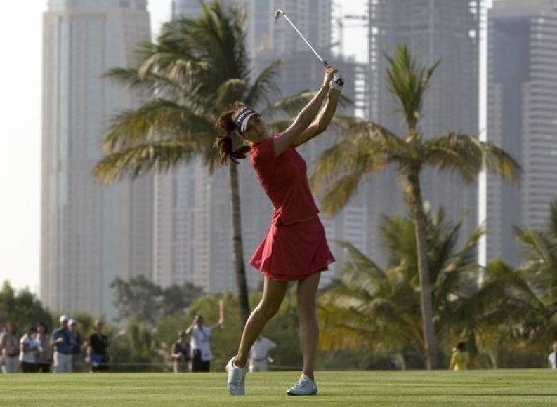 M.Verčenova - geriausia Rusijos golfo žaidėja.
