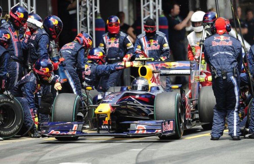 """Apie galimą pasitraukimą iš """"Formulės–1"""" prabilo ir """"Red Bull"""" komanda"""
