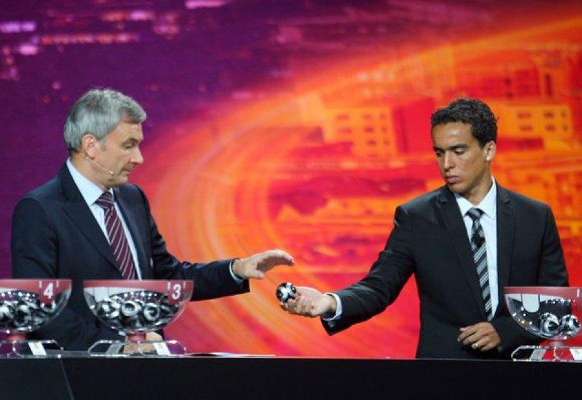 Ištraukti UEFA Europos lygos pagrindinio turnyro burtai