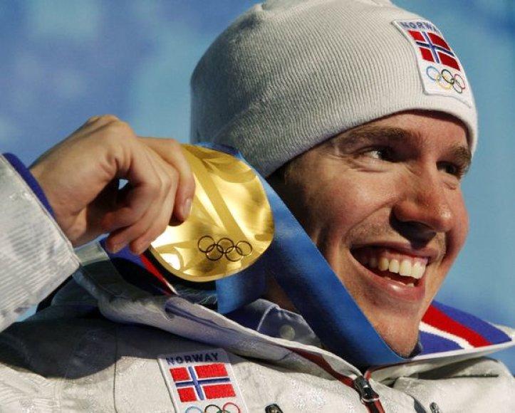 Norvegas Emilis Helge Svendsenas savo šaliai iškovojo jau 101-ąjį aukso medalį olimpinių žaidynių istorijoje