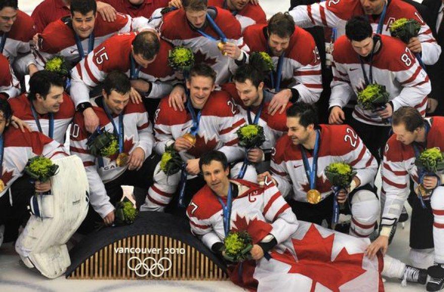 Dar vienas aukso medalis - Kandados ledo rituluio rinktinei