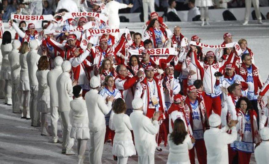 Rusijos rinktinė Vankuverio olimpinėse žaidynėse patyrė fiasko