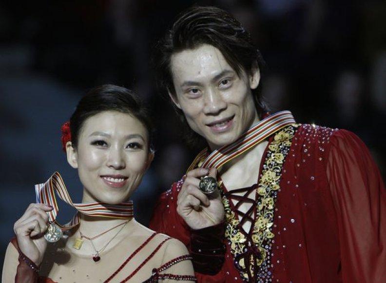 Kinų pora tapo pasaulio čempionais