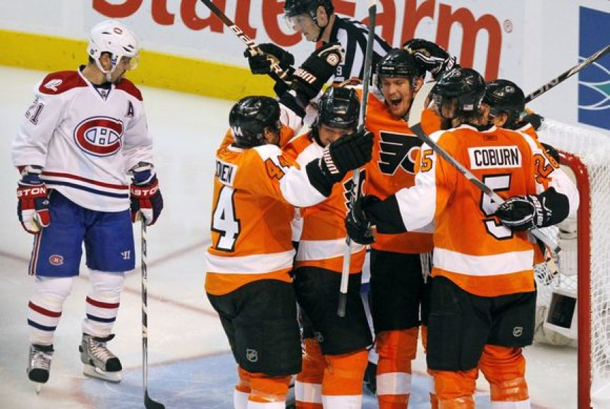 """""""Flyers"""" komanda triuškino savo varžovus"""