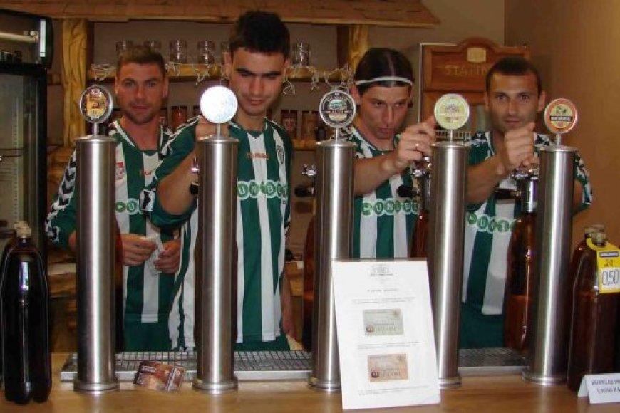 """Vilniaus """"Žalgirio"""" futbolininkai prekiavo alumi"""