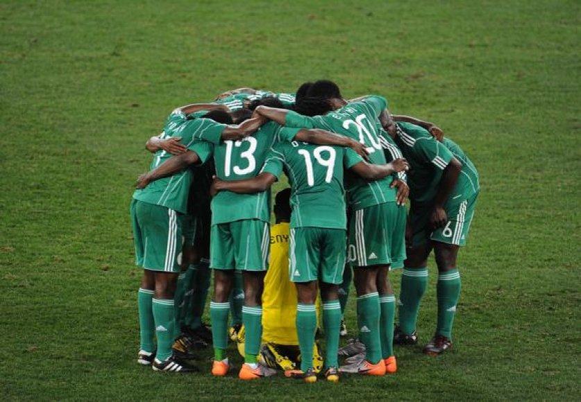 Nigerijos rinktinei uždrausta dalyvauti tarptautinėse varžybose