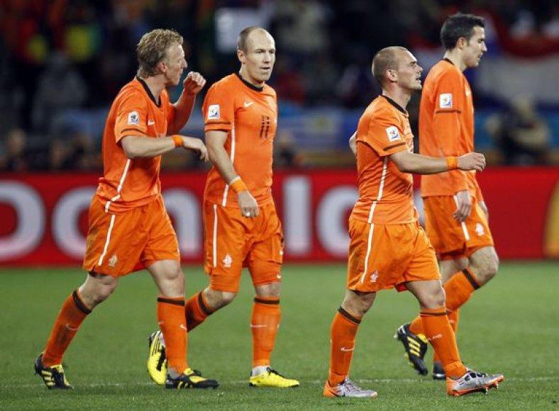 Olandai tvirtina, kad savo šansą išnaudos