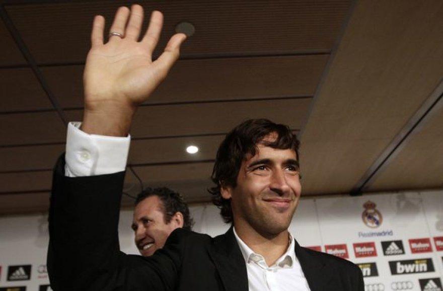 Raulis palieka Madrido klubą