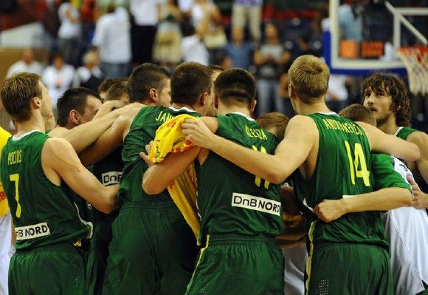 Lietuvos rinktinė iškovojo penkias pergales iš eilės