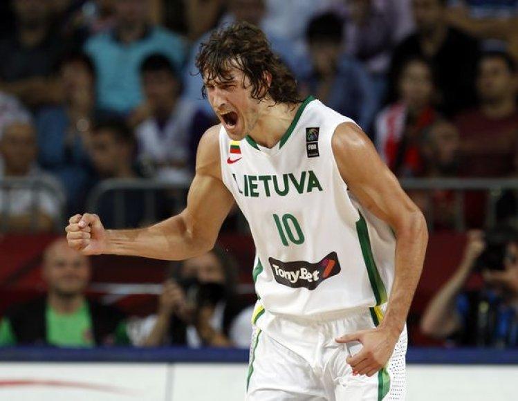 Lietuvos rinktinė mėgina prasibrauti į finalą