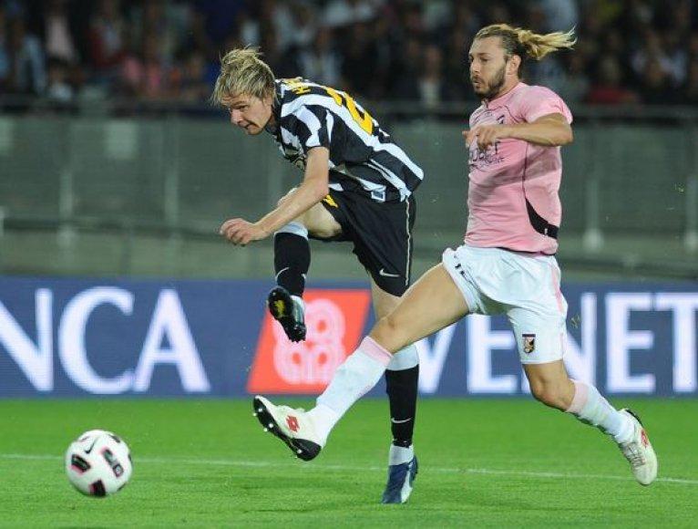 """""""Juventus"""" namie patyrė pralaimėjimą"""