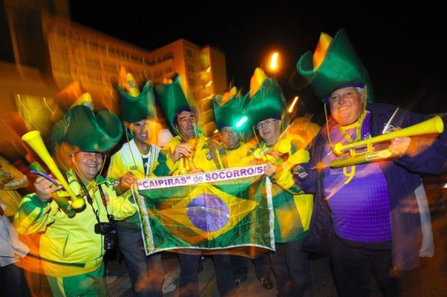 Brazilų sirgaliai