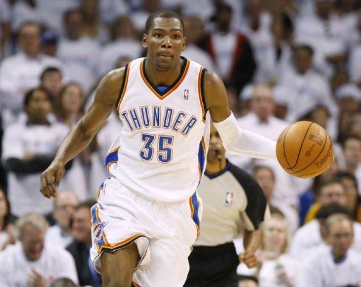 K.Durantas - kylanti NBA žvaigždė