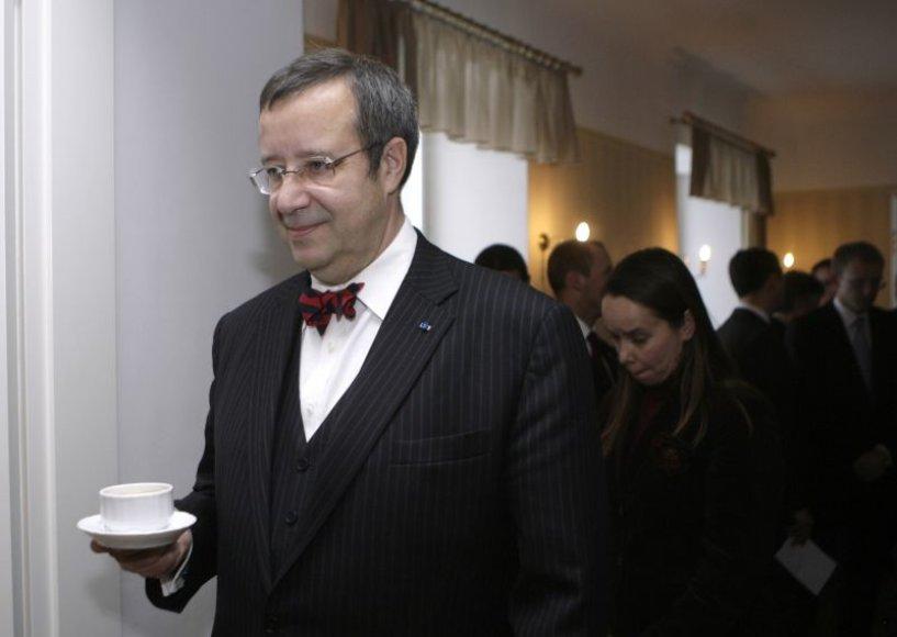Estijos prezidentas T.H.Ilvesas
