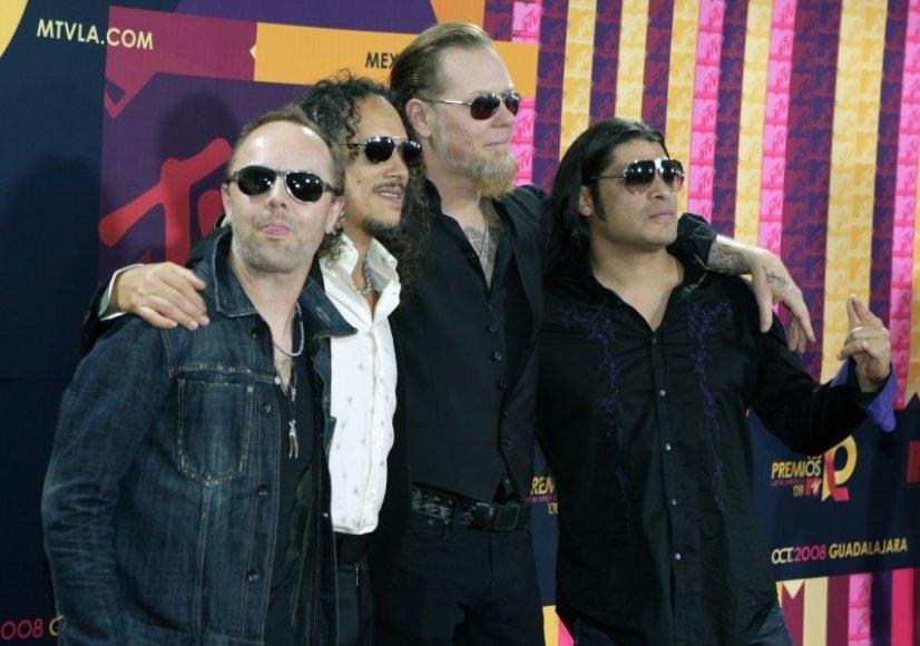"""Grupė """"Metallica"""""""