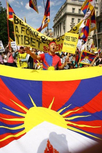 Kovotojai už Tibeto nepriklausomybę