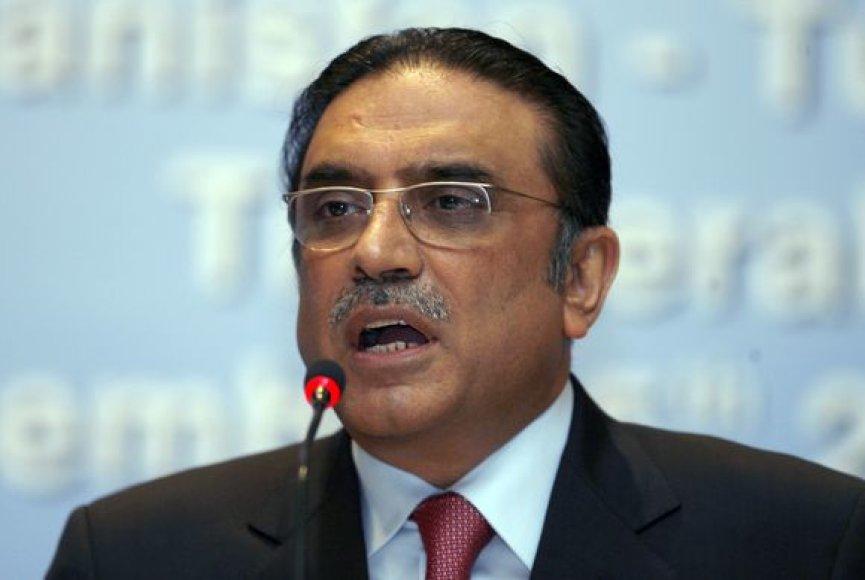 Pakistano prezidentas Asifas Ali Zardari